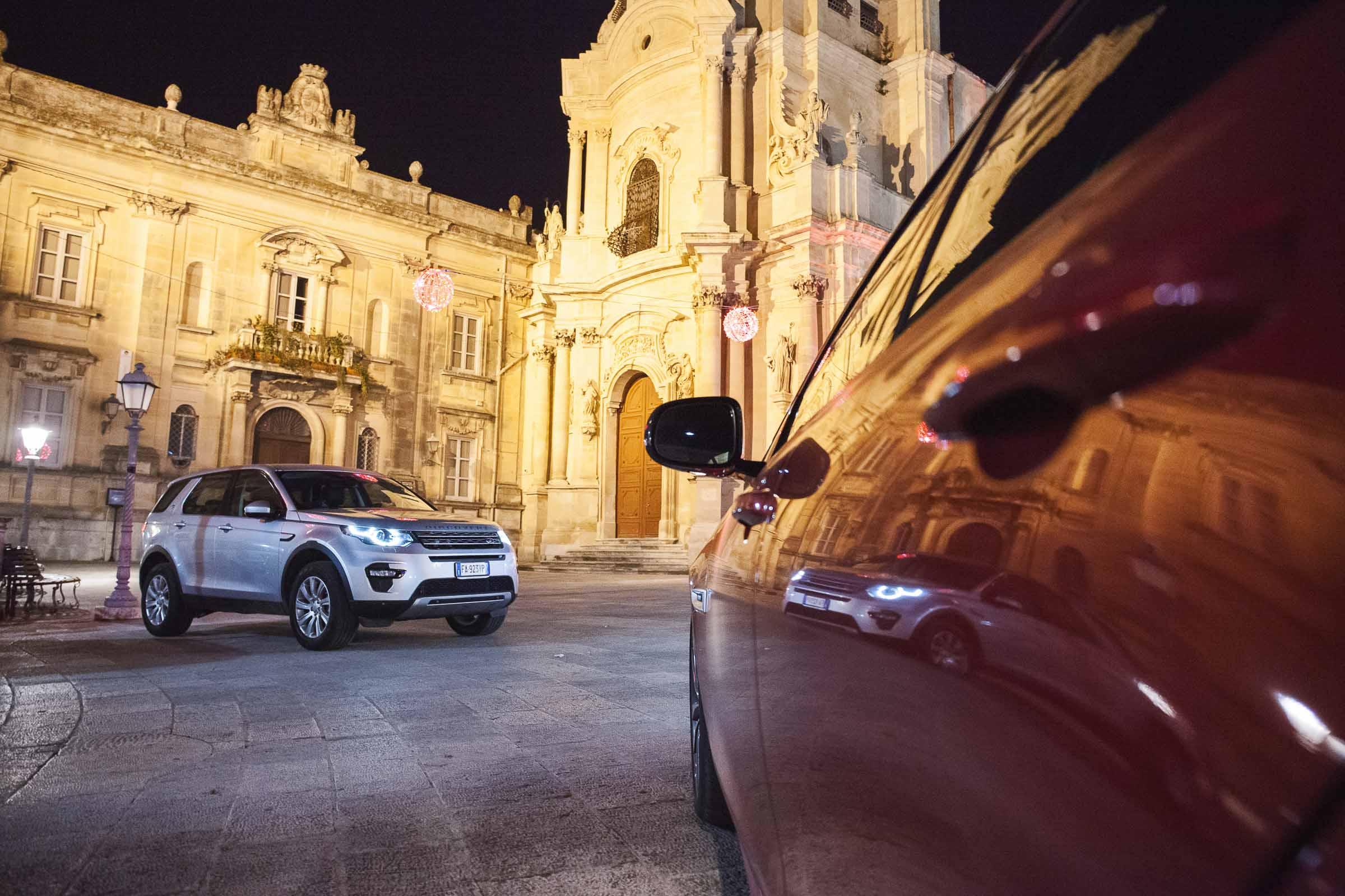 Range Rover Evoque at Magazzini Donnafugata